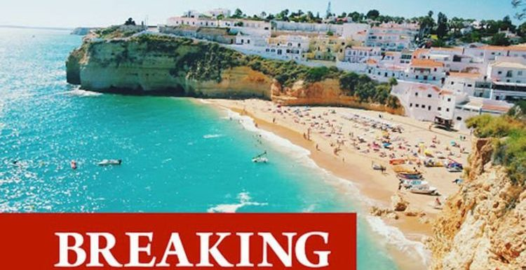 Portugal to come off the travel green list and added to amber in shock blow for holidays
