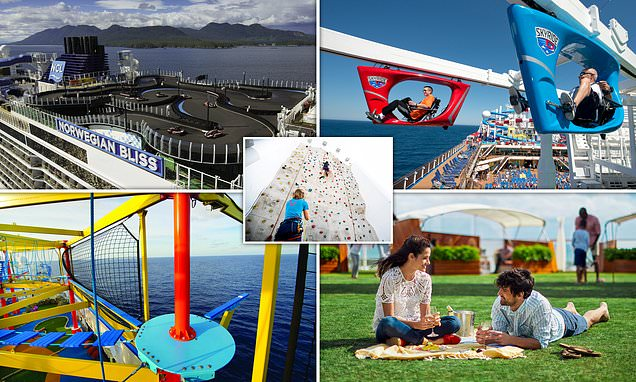 Revealing 22 amazing activities you can do on a cruise