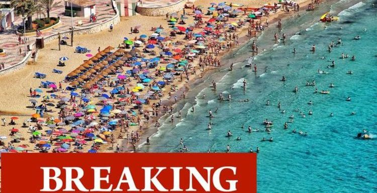 Spain tightens rules for UK visitors demanding proof of double-jab or negative test