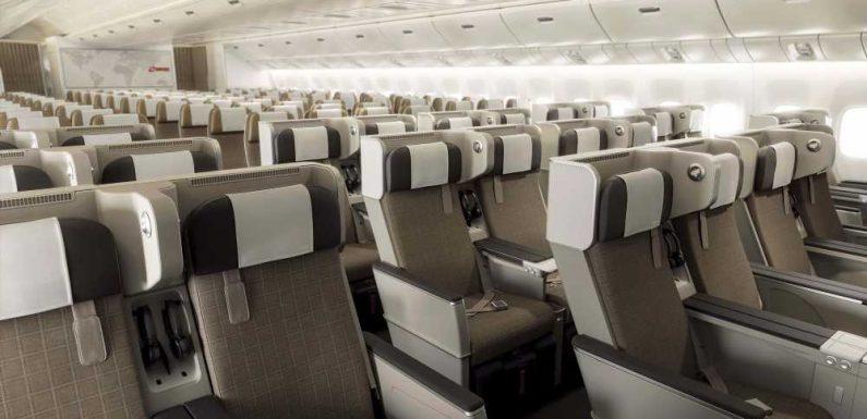 Swiss Air Lines retrofitting 777s with premium economy cabin