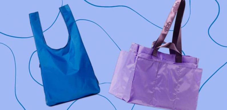 This Stylish, Sustainable Brand Makes Reusable Totes That Are Perfect for Shopping, Beach Days, and More