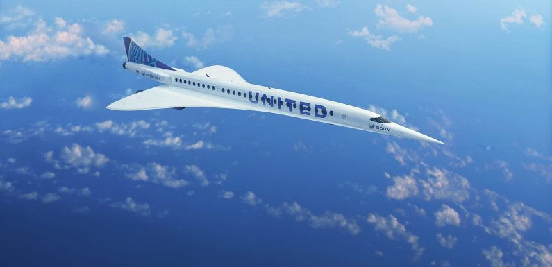 United Customers Could Soon Fly to London in Under 4 Hours Thanks to Futuristic New Planes