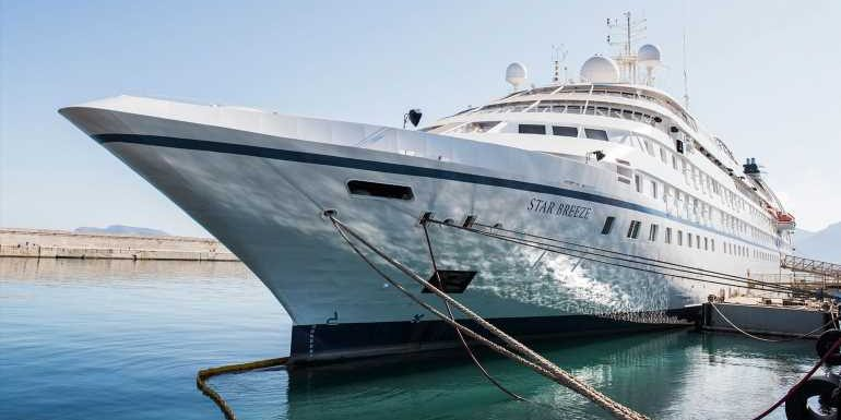 Windstar cancels Star Breeze cruises