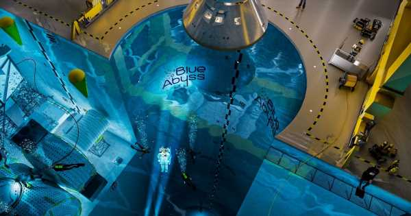 World's deepest pool with '50m shaft' planned for UK to train astronauts