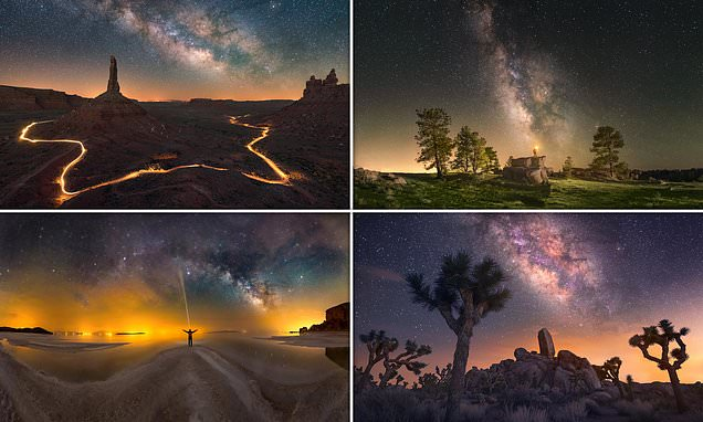 All-star cast: Night skies around the world captured in amazing photos