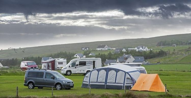 As campsites across the UK book up – Britons can now pitch up in people's back gardens
