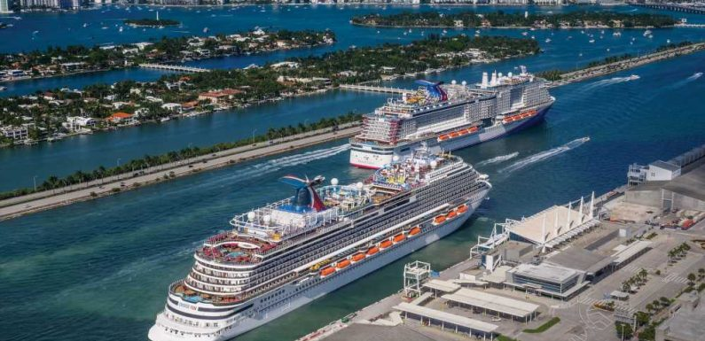 Cruise lines relaunch service over weekend