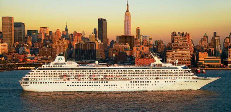 Crystal Symphony sailing Bermuda cruises from Boston and New York