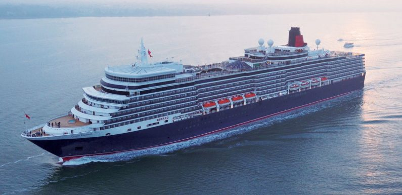 Cunard's new star-studded Canaries cruise is ridiculously dreamy