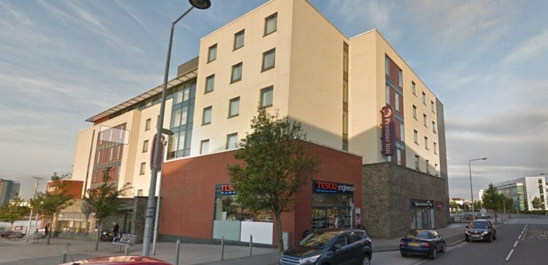 Dad books Premier Inn room with 'sea views' – but fumes after looking outside