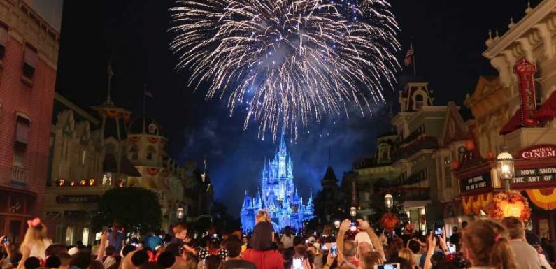 Disney World has removed the 'Ladies and Gentlemen, Boys and Girls' greeting from its Magic Kingdom fireworks show