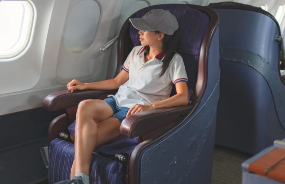 Flight attendant says you should never wear shorts on planes because of 'germs'