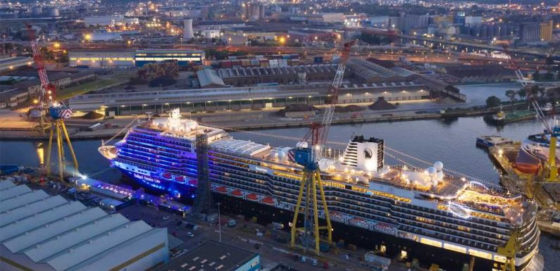 Holland America Line takes delivery of its latest Rotterdam