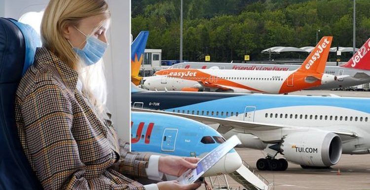 Jet2, easyJet, TUI, Ryanair and British Airways face mask rules from Monday