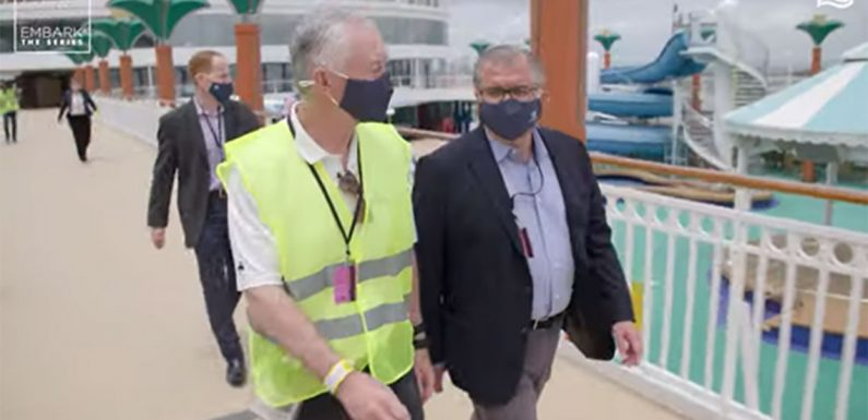 NCL executives visit Norwegian Gem in third 'Embark' episode