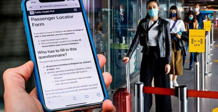 Passenger Locator Form error could see Brits barred from flights – 'should be in bold'