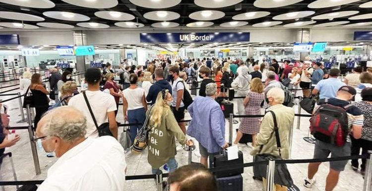 Passengers at Heathrow advised to 'lie' to avoid queues – 'never seen anything like it'