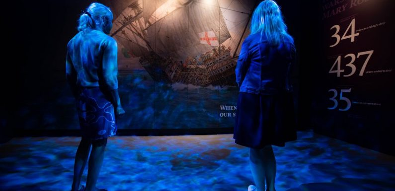 Re-live final moments on board Mary Rose in immersive experience with Judi Dench