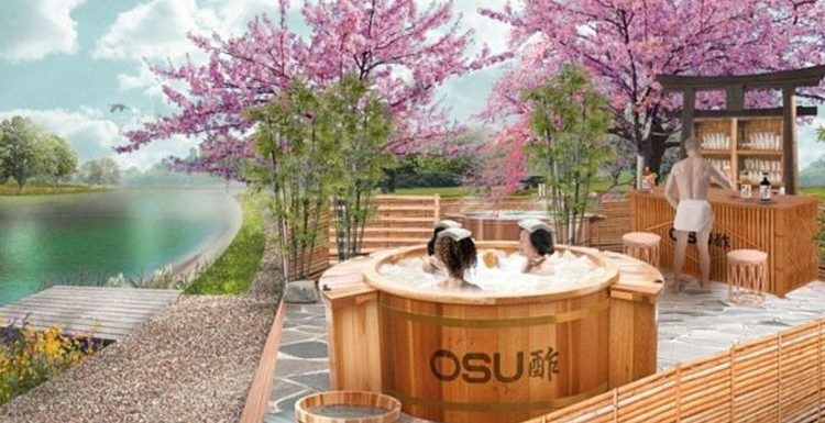 Relax in London's first Japanese traditional Onsen-style bath experience