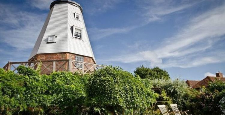 Sleep inside a 19th Century mill used as World War 2 gunner's outlook in Kent