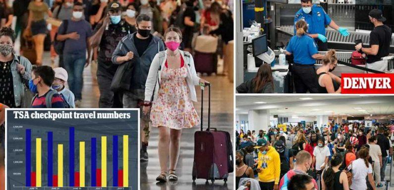TSA screenings beat 2019 numbers as Americans celebrate July 4