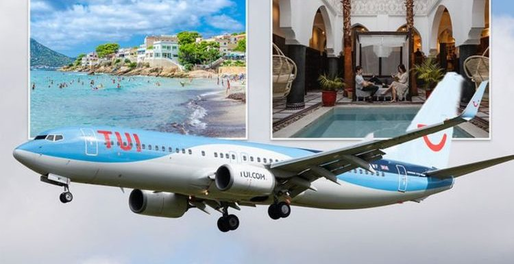 TUI to resume flights and holidays to Spain, Greece and Morocco from tomorrow
