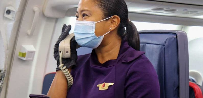 Tension and violence onboard airplanes is soaring, but the CDC still wants flyers to wear masks because the unvaccinated are 'extremely vulnerable'