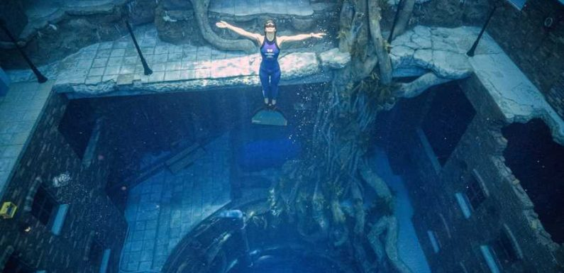 The World's Deepest Diving Pool Opened in Dubai — and It Has a 'Sunken City' to Explore