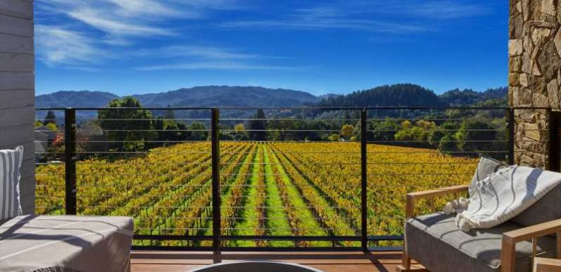These are the best points hotels in Napa and Sonoma, California