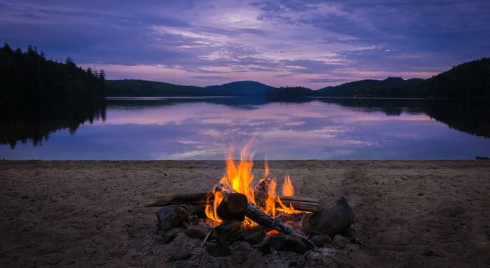 This is what real camping looks like