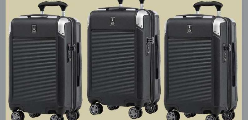 Travelpro's Newest Suitcase Keeps Me More Organized Than Ever on Trips