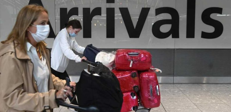 UK to Waive Quarantine for Vaccinated Brits Returning From 'Amber' Countries, Including the U.S.