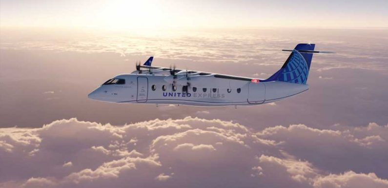 United and Mesa ink deals for electric regional aircraft