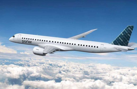 With new Embraer jets, Porter Airlines will expand route map
