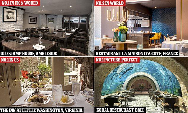 World's best restaurants for 2021 are named by Tripadvisor