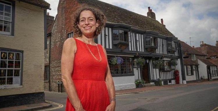 'It's a nightmare': Alex Polizzi shares 'chaos' of renovating £2million 37-bedroom inn