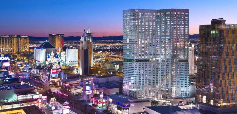A refresh is in the works at the Waldorf Astoria Las Vegas