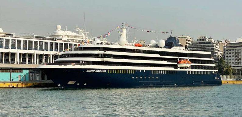 Atlas Ocean Voyages makes debut in Greece
