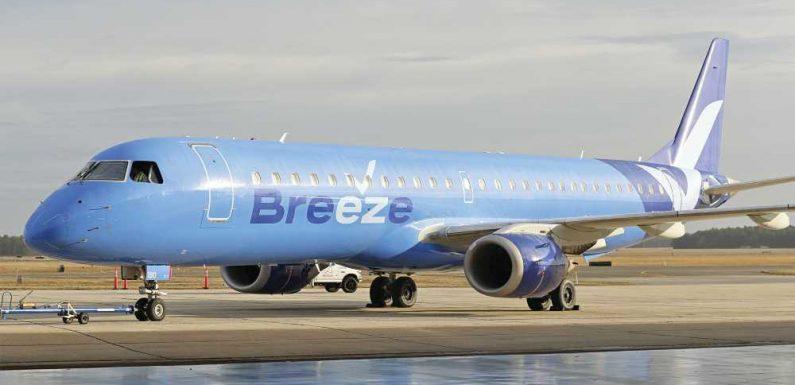 Breeze Airways receives $200M investment