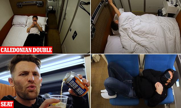 Caledonian Sleeper review: Bed compartment vs the seat option