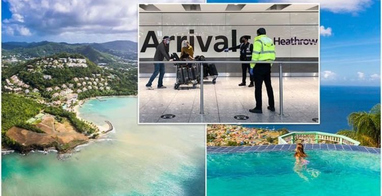 Caribbean red list devastation: Which holiday hotspots are at risk of hotel quarantine?