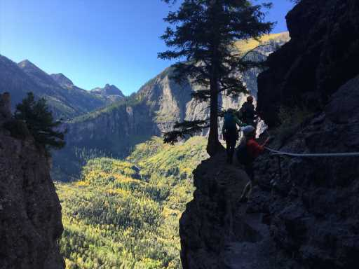 """Deadly climbing fall on Telluride's via ferrata caused by a """"misstep"""""""