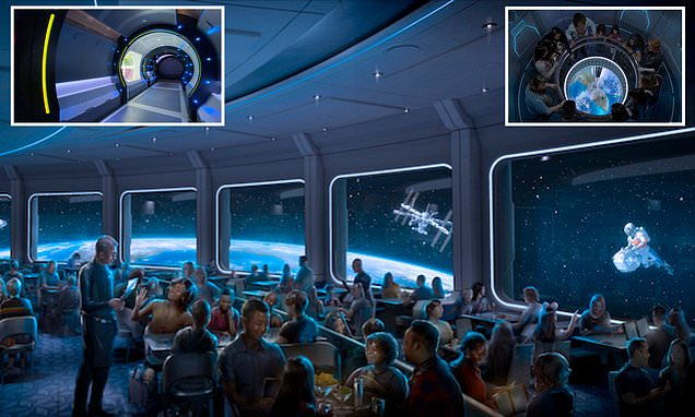 Disney is launching a restaurant that mimics dining in space