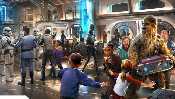Disney's Star Wars hotel to cost about $6,000 for a family of four