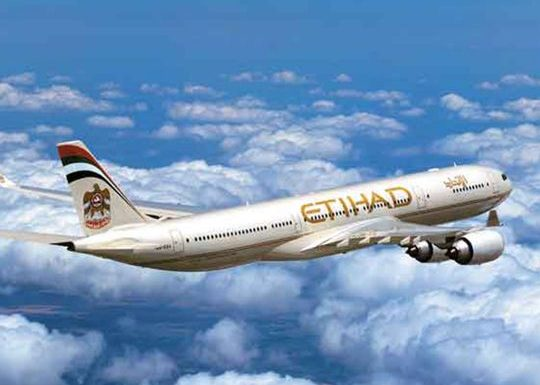 Etihad: Abu Dhabi visa on arrival for passengers from 70 countries, and for Indians with UK/EU residence visa or US visitor visa/green card