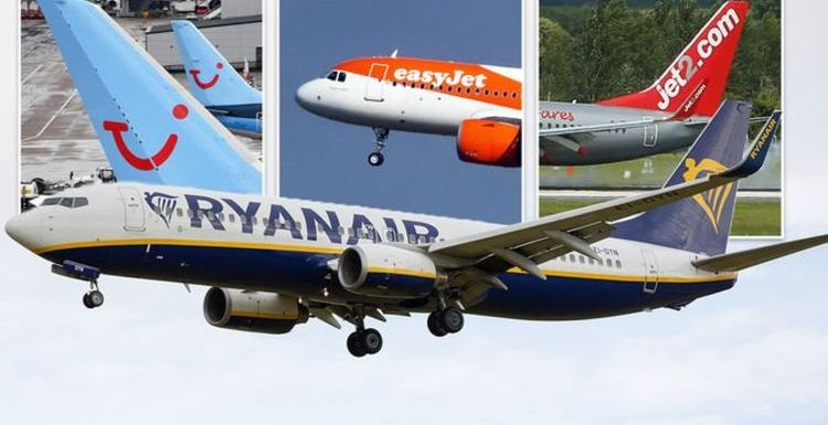 Flights: Jet2, easyJet, TUI and Ryanair testing deals amid changing travel rules