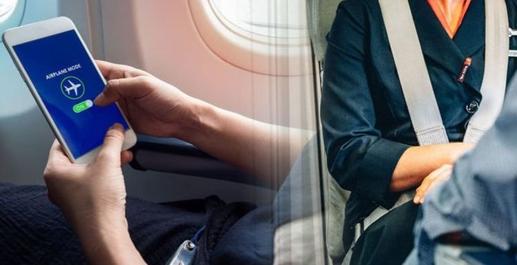 Flights: The 'shock' reason you must have your phone switched to aeroplane mode