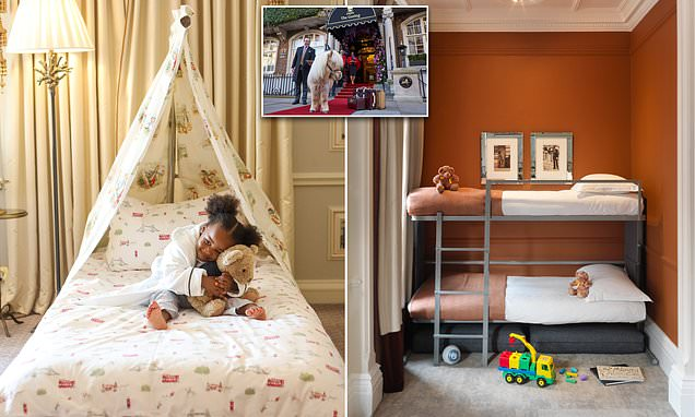 How top London hotels are rolling out the red carpet for children