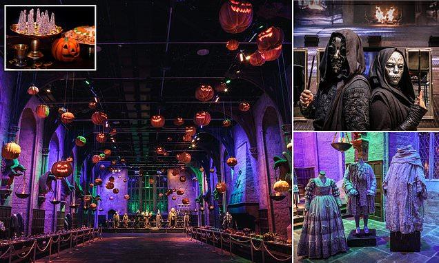 Inside the Halloween Warner Bros Studio Tour Harry Potter film set