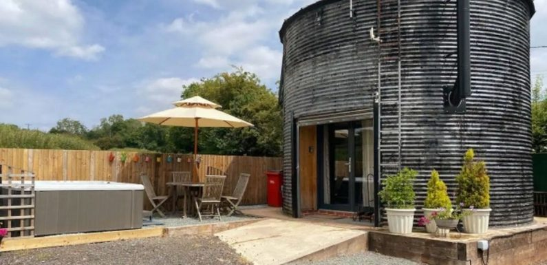 Look inside quirky AirBnB host's converted silo with a modern twist